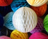"50pcs 14""(35cm) Tissue Paper Honeycomb Balls Wholesale"