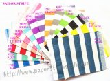 1400pcs Mixed 14 Colors Sailor Striped Paper Bags