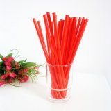 All Red Color Paper Drinking Straws 500pcs