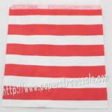 Red Sailor Striped Paper Favor Bags 400pcs
