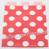 Red Polka Dot Paper Favor Bags 400pcs
