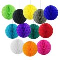 "50pcs 8""(20cm) Tissue Paper Honeycomb Balls Wholesale"