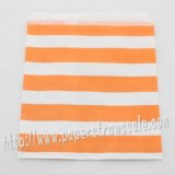 Orange Sailor Striped Paper Favor Bags 400pcs