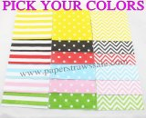 2000pcs Striped Dot Chevron Paper Napkins Wholesale