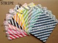 1100pcs Mixed 11 Colors Party Paper Bags Striped