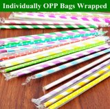 10000pcs Individually Wrapped Paper Straws Wholesale