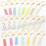Wholesale Printed Wooden Spoons 2300pcs Mixed 23 Colors
