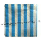 Paper Napkins Print Blue Stripe 300pcs