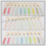 1500pcs Mixed 30 Colors Striped Dot Chevron Wooden Spoons