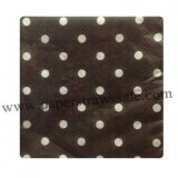 Black Polka Dot Paper Napkins 300pcs