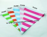 50 Strings Striped Party Bunting Flags Mixed 5 Colors
