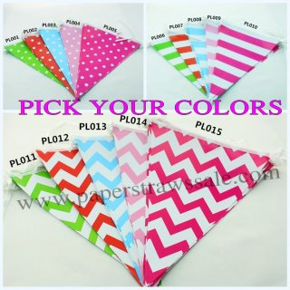 150pcs Party Bunting Flags Banners Wholesale