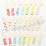 Wholesale Printed Wooden Knives 2300pcs Mixed 23 Colors