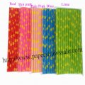 Daisy Flower Paper Straws 1500pcs Mixed 5 Colors