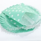 Aqua Tiny Dot Paper Favor Bags 400pcs