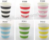 360pcs 90Z Striped Paper Drinking Cups Mixed 6 Colors