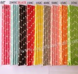 Colored Star Paper Drinking Straws 1800pcs Mixed 9 Colors