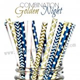 250pcs GIRLS NIGHT OUT Paper Straws Mixed