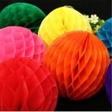 "50pcs 16""(40cm) Tissue Paper Honeycomb Balls Wholesale"