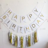 Happy Birthday White Party Decoration Set