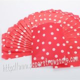 Red Tiny Dot Paper Favor Bags 400pcs