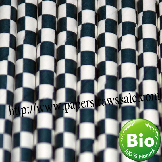 Checkered Wax Paper Navy Blue Checkered Paper