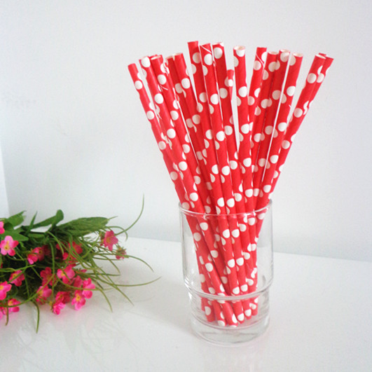 polka dot paper straws Happy, fun, colorful, party supplies and modern design build the perfect party from our colorful selection of party supplies and bag of tricks modern and graphic paper plates, polka dot cups, stripe baking cups, 3ft huge balloons, and designer party supplies.